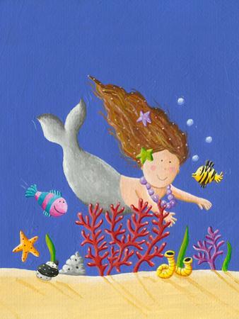Cute Little Mermaid by andreapetrlik