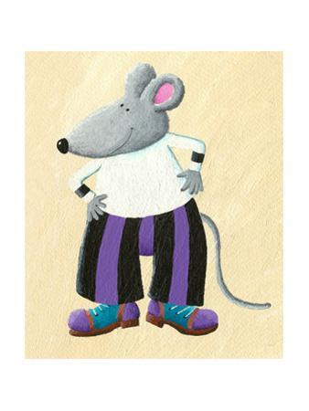 Funny Dressed Mouse by andreapetrlik