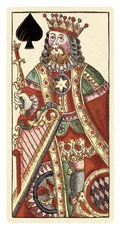 King of Spades (Bauern Hochzeit Deck)
