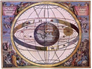 Celestial Chart, 1661 by Andreas Cellarius