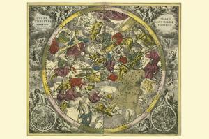 Coelistellati Christianihaemi by Andreas Cellarius