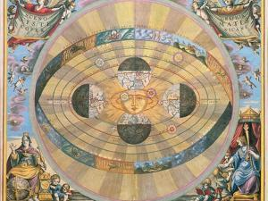 Scenographia: Systematis Copernicani Astrological Chart (C.1543) Devised by Nicolaus Copernicus… by Andreas Cellarius