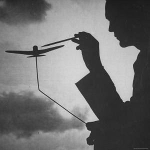 Air Force Intelligence Men Being Trained with the Use of Visual Demonstrations in Class by Andreas Feininger
