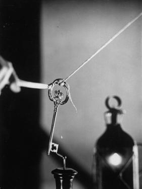 Benjamin Franklin's Experiment in Electricity by Andreas Feininger