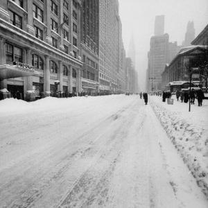 Big Snow by Andreas Feininger