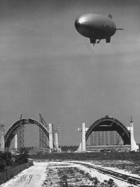 Blimp Hangar by Andreas Feininger