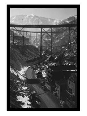 Carr Fork Canyon, as Seen from the G Bridge by Andreas Feininger