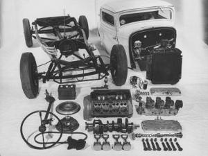 Dismantled Stock Car by Andreas Feininger