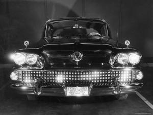 Front View of 1958 Buick by Andreas Feininger