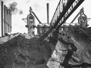Industrial Scene by Andreas Feininger