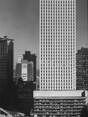 New Office Buildings in Chicago by Andreas Feininger
