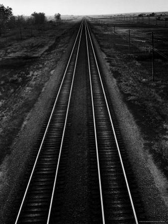 Railroad Tracks by Andreas Feininger