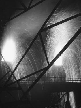 Scene at the Carnegie Illinois Steel Company by Andreas Feininger