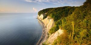 Chalk Rocks in the Morning Light, National Park Jasmund, Mecklenburg-West Pomerania by Andreas Vitting