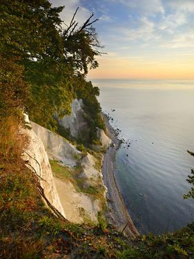 Chalk Rocks in the Morning Light, National Park Jasmund, Mecklenburg-West Pomerania by Andreas Vitting