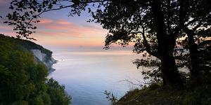 Chalk Rocks, Sunrise, National Park Jasmund, Island RŸgen, Mecklenburg-West Pomerania, Germany by Andreas Vitting
