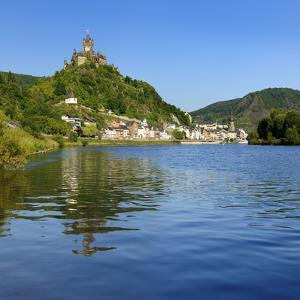 Germany, Rhineland-Palatinate, Cochem, the Moselle, Imperial Castle by Andreas Vitting