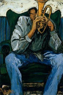 Blues by Andree Vezina