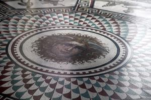 Floor Mosaic in the Pavilion Hall, State Hermitage Museum, St Petersburg, Russia, 1847-1851 by Andrei Ivanovich Stakenschneider