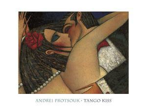 Tango Kiss by Andrei Protsouk