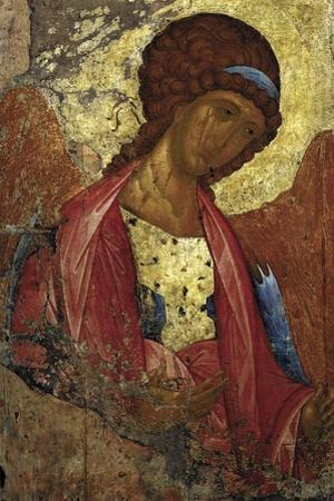 Saint Michael the Archangel, C1410 by Andrei Rublev