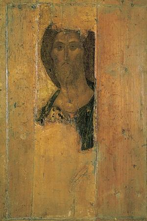 Salvator Mundi (Saviour of the World), C1410 by Andrei Rublev