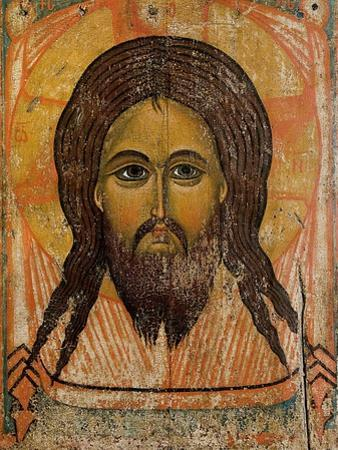 The Holy Face by Andrei Rublev