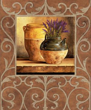 Vases with Lavender by Andres Gonzales
