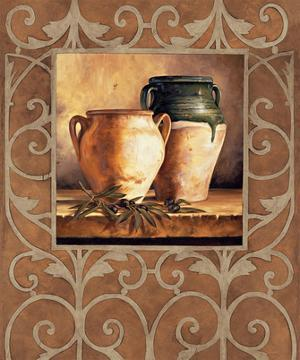 Vases with Olives by Andres Gonzales