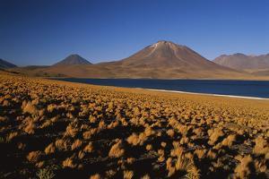 Chile, Altiplano, Los Flamencos National Reserve, Miscanti Lake by Andres Morya Hinojosa