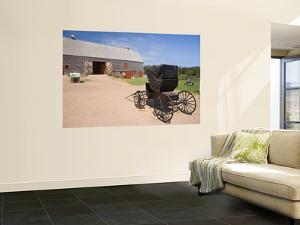 Barn and Carriage at Green Gables House by Andrew Bain