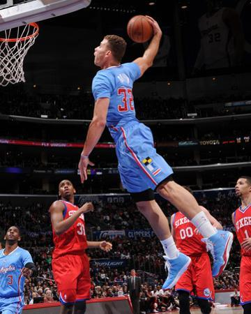 Feb 9, 2014, Philadelphia 76ers vs Los Angeles Clippers - Blake Griffin by Andrew Bernstein