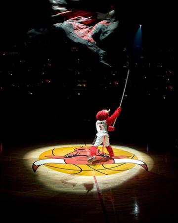 Los Angeles Lakers v Chicago Bulls: Benny the Bull by Andrew Bernstein