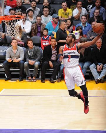 Mar 21, 2014, Washington Wizards vs Los Angeles Lakers - John Wall by Andrew Bernstein
