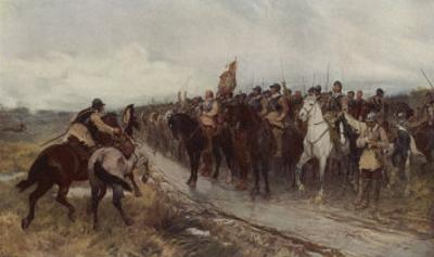 Cromwell Prepares to Fight the Scots at Dunbar