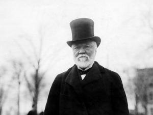 Andrew Carnegie, 1912