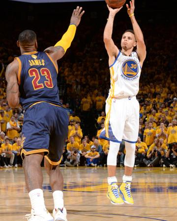 2015 NBA Finals - Game One by Andrew D Bernstein