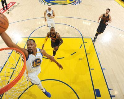 2017 NBA Finals - Game One by Andrew D Bernstein