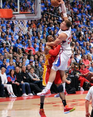 Houston Rockets v Los Angeles Clippers - Game Four by Andrew D Bernstein