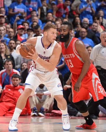 Houston Rockets v Los Angeles Clippers - Game Six by Andrew D Bernstein