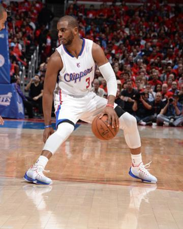 San Antonio Spurs v Los Angeles Clippers - Game One by Andrew D Bernstein