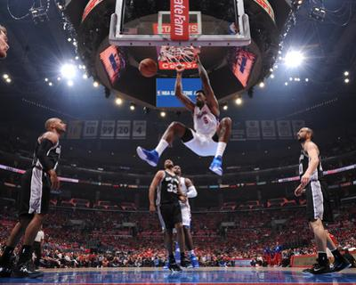 San Antonio Spurs v Los Angeles Clippers - Game Two by Andrew D Bernstein