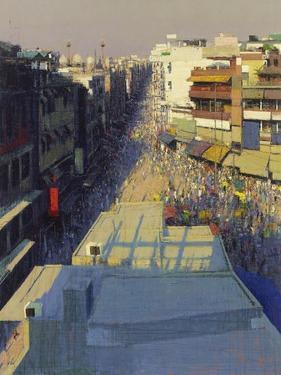 Paharganj Bazar, Delhi, 2017 by Andrew Gifford