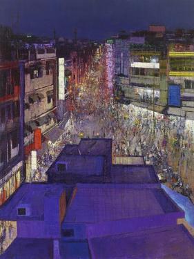 Paharganj Main Bazaar Ii, Delhi, 2017 by Andrew Gifford