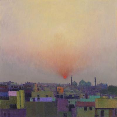 Sunset over Jama Masjid, Delhi II
