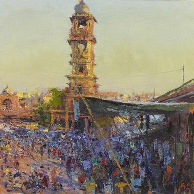 The Clock Tower, Last Light, Jodhpur
