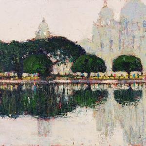Victoria Memorial, Kolkata by Andrew Gifford