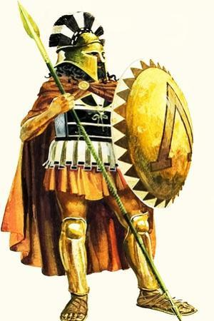 A Spartan Hoplite, or Heavy Armed Soldier by Andrew Howat