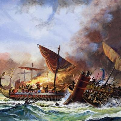 Battle of Salamis by Andrew Howat