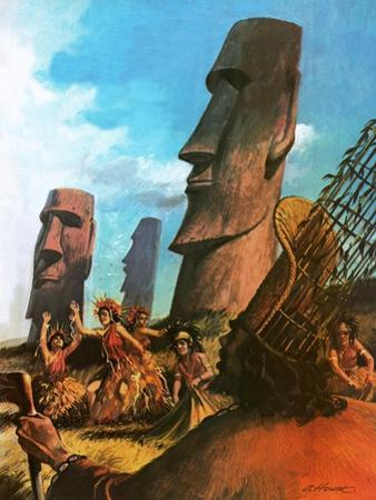 Easter Island by Andrew Howat